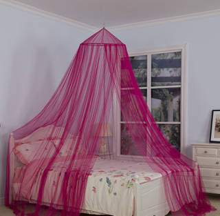 Girls Bed Canopy Curtains Hanging Umbrella Mosquito Nets for Double Bed