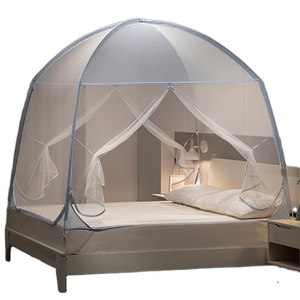 Fall-proof Household Encryption And Thickening Zipper Pop Up Mosquito Net