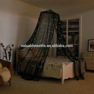 Whole Sale Night Luminous Glow in The Dark Stars Mosquito Net for Home Using Decoration