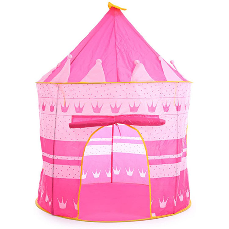 Hot Sale Outdoor Toy Portable Playhouse Princess House Kids Play Tent