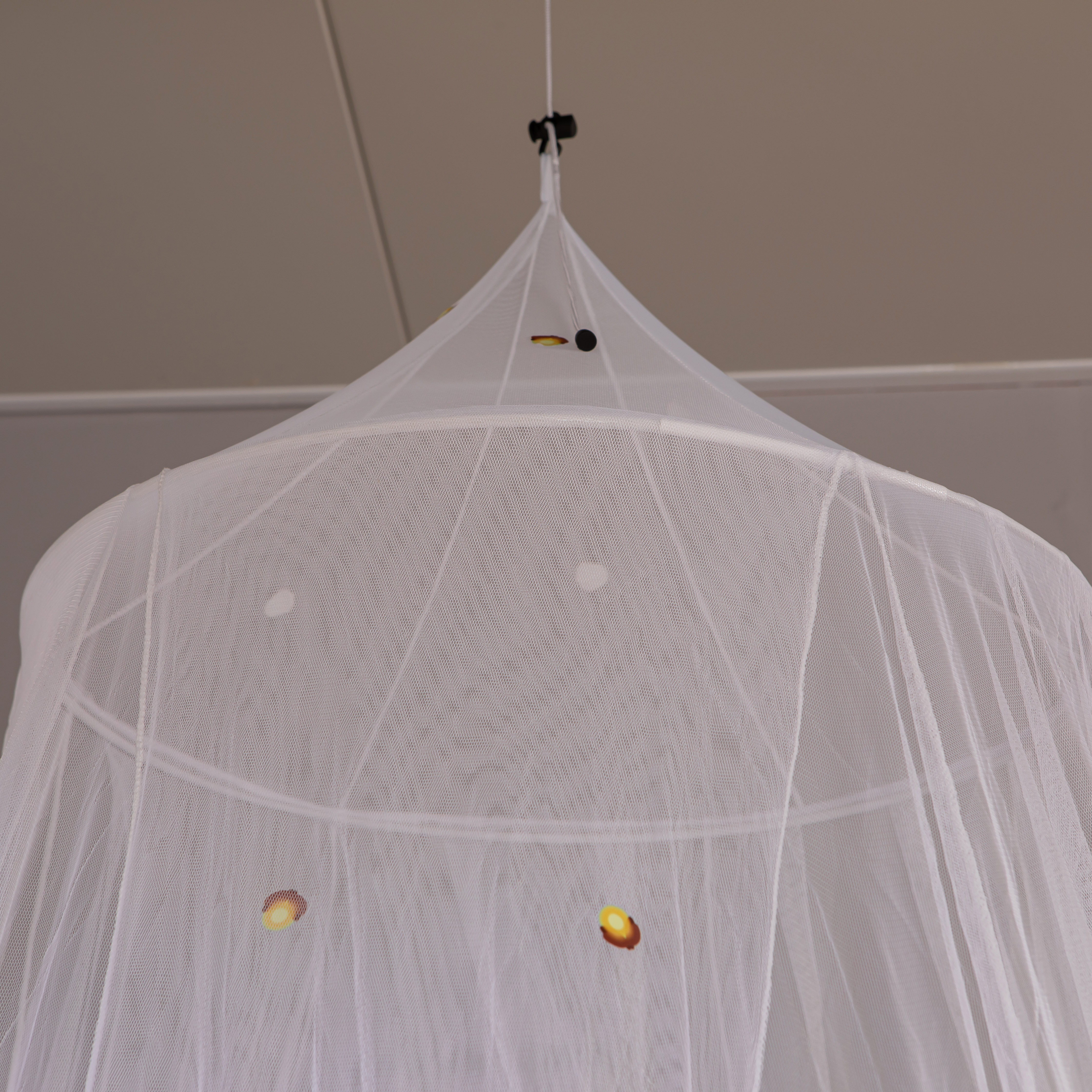 Easy Set Up Growing In The Dark Firefly Concial White Mosquito Net Bed Canopy