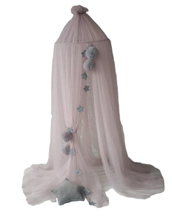 Tulle nursery crib bed play canopy Perfect accent for the nursery room