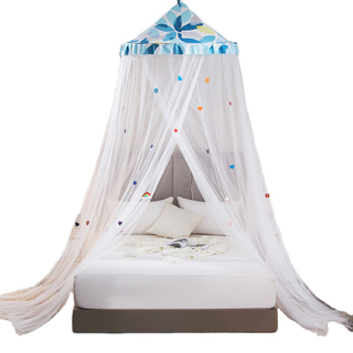 New Design Hot Kids Adults Bedroom Bed Canopy Decorative Large Queen Size Anti-mosquito Hanging Mosquito Bed Net