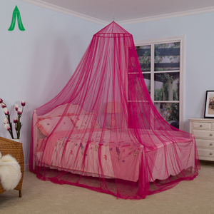 Single Bed / Double Bed Colorful Decorative Mosquito Net Canopy