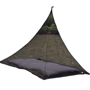 Practical Outdoor Double Trapezoidal Outdoor Camping Travel Polyester Mesh Anti-mosquito Tent