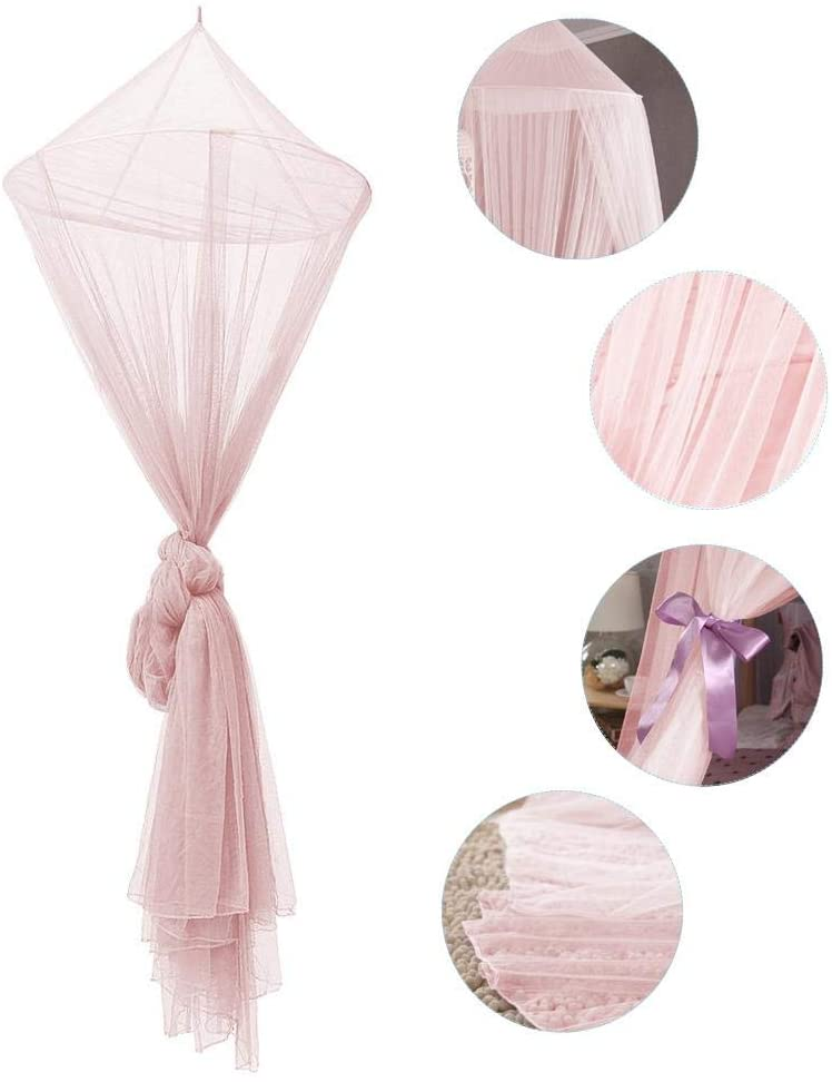 High Quality Dome Mosquito Mesh Net Baby Kids Round Bed Canopy Curtains