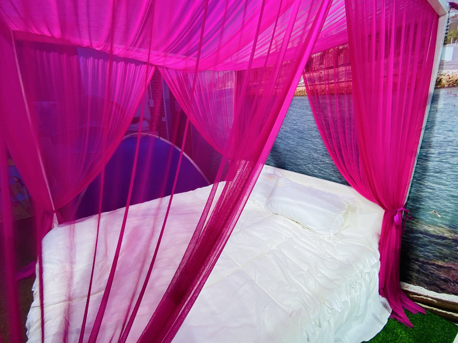 2020 New Trend Royal And Romantic Rome Holiday Screen Sky Princess Bed Canopy