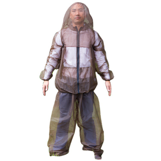 Mosquito Suit,Repellent Bug Jacket Mesh Hooded Suits Unisex Ultra-fine Mesh Insect Protective for Fishing Hiking Camping
