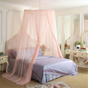 High Quality Circular Queen Size Folding Bed Mosquito Curtain