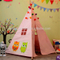 100% cotton indoor pop up kids play canopy playhouse tent