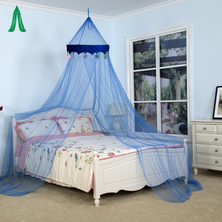 Wholesale Umbrella Hanging Kids Mosquito Net Bed Canopy With Velvet Star
