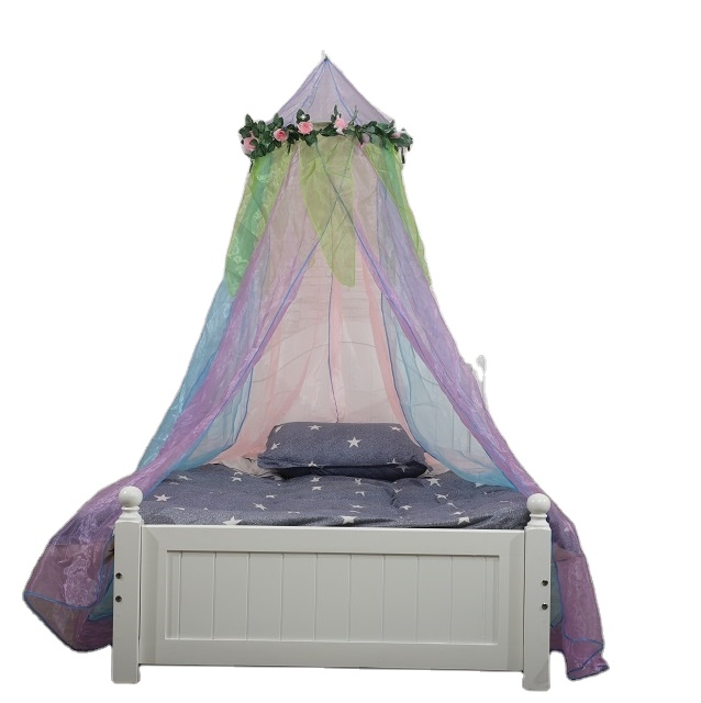2020 New Product Fresh Style Floral Fairy Durable Hanging Baby Mosquito Net