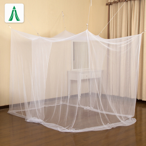 Rectangular Luxury Shape White Mosquito Net for Home
