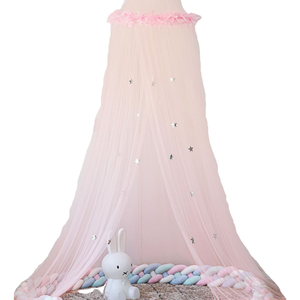 Best Selling Product Princess Dome Mosquito Net Stars Decor Bed Canopy