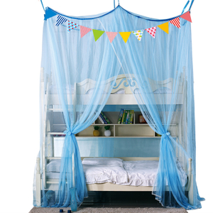 Sticky Hook Ceiling Mosquito Net Thickened Double Layer Mother Bed Ceiling Bunk Bed One Child High And Low Bed Mosquito Net