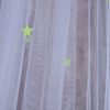 2020 New Design Perfect Sewing 100% Polyester Growing In The Dark Big Stars Mosquito Net