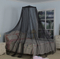 OEM Hanging Mosquito Nettings Polyester Mesh Umbrella Bed Canopy
