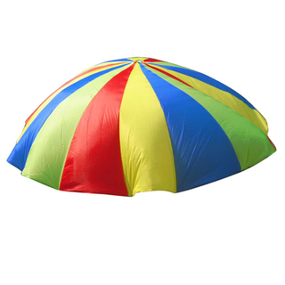 Rainbow Parachute Soft Toy Tents Foldable Kids Play Game Toy with Handles