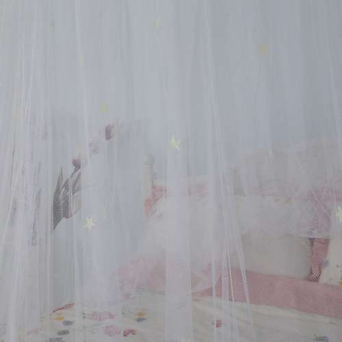 Best Sales Popular Round Mosquito Nets Bed Canopy with Fluorescent Stars
