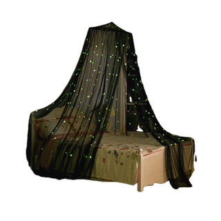 Amazon's Most Popular Luminous Stars Illuminate The Dark Night Net Children's Favorite Fantasy Luminous Mosquito Net Circular