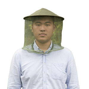 2020 New Design Good Sewing Army Green Anti-mosquito Mosquito Head Net