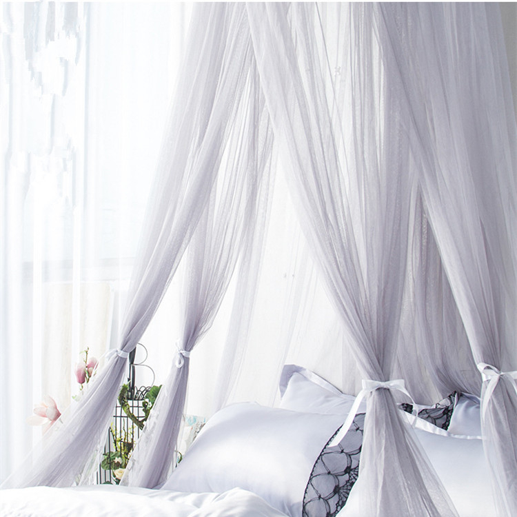 Fabulous Home King Queen Size Bed Canopy Double Bed Adult Bedroom Hanging Mosquito Bed Nets