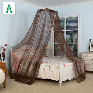 100%polyester Long Lasting Insecticide Treated Conical Mosquito Nets for Double Bed