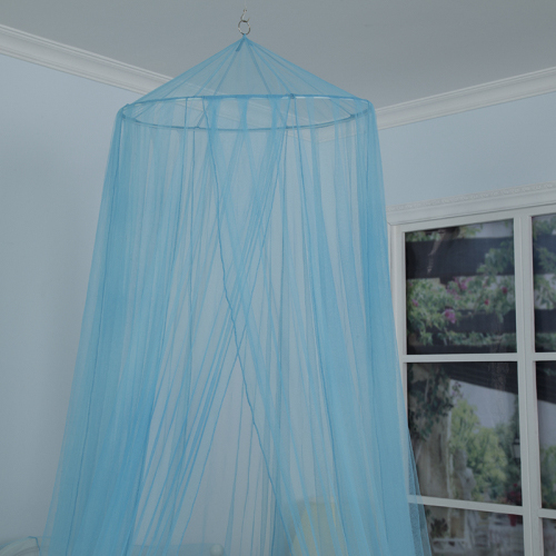 2020 Top-Selling Fresh Style Blue High Quality Hanging Mesh Mosquito Net